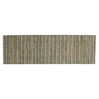 Modern Gabbeh Pure Wool Hand-knotted Oriental Runner Rug (2'6 x 8')