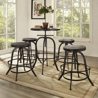 Modway Gather 5-piece Dining Set (2 options available)