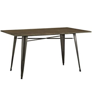 Alacrity 59-inch Rectangle Wood Dining Table