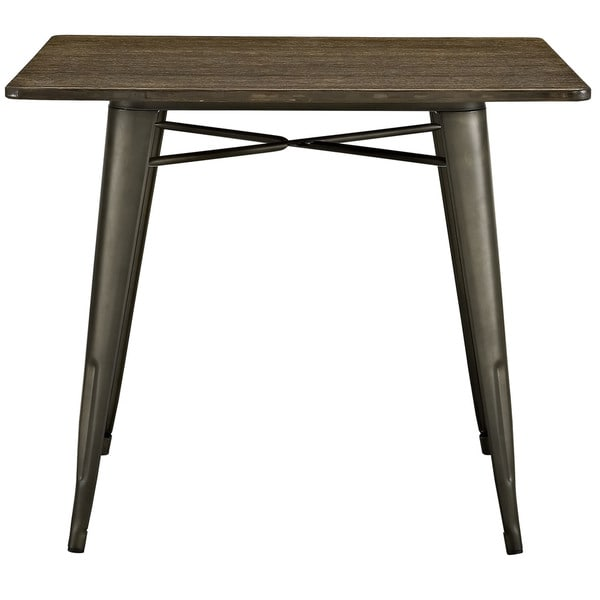 Alacrity 36 Inch Square Wood Dining Table Free Shipping