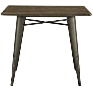 alacrity 36 inch square wood dining table - Square Wood Dining Table