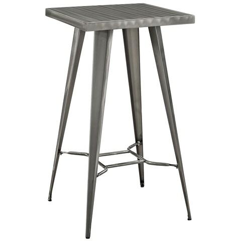 Direct Gunmetal Grey Bar Table