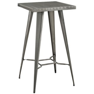 Direct Gunmetal Grey Bar Table
