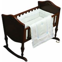 Neutral Royal Classic Cradle 3-piece Baby Bedding