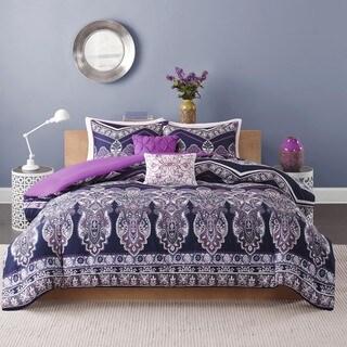 Intelligent Design Kinley 5-piece Full/ Queen Size Comforter Set (As Is Item)