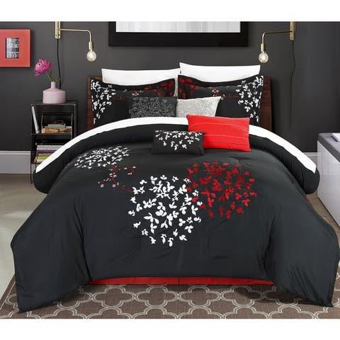 Copper Grove Scaevola Black 8-piece Comforter Set