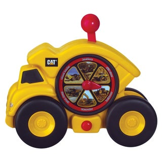 Toysmith Caterpillar Shift and Spin Dump Truck Cat