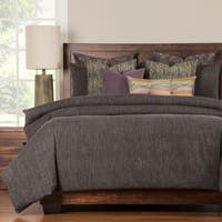 Siscovers Steele Grey Luxury 6-piece Duvet Cover Set