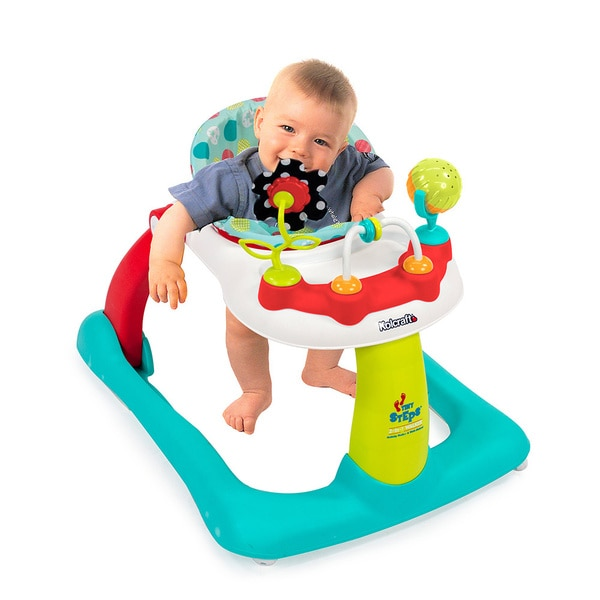 Kolcraft Tiny Steps 2-in-1 Activity Walker with Seated or Walk-behind Position
