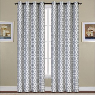 Oakland Woven Grommet Curtain Panel