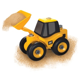 Toysmith Caterpillar Take A Part Wheel Loader Cat