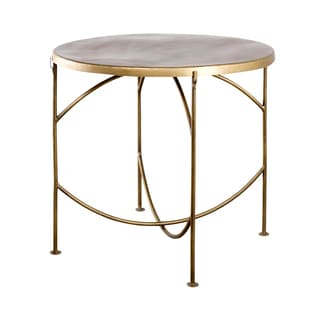 Cap Top Brass Bistro Table (India)