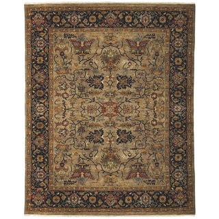 Bethany Camel Traditional Hand-knotted Rug (12' x 15')