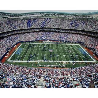 """NY Giants Greats Multi Signed """"Stadium Shot"""" 16x20 Photo (16 Sig)"""
