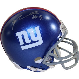 Nikita Whitlock Signed New York Giants Mini Helmet