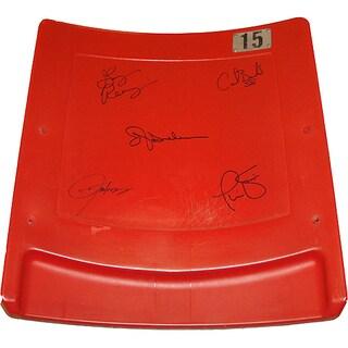 "New York Giants ""Super Bowl XXV"" 5 Signature Seatback (LE/100)"