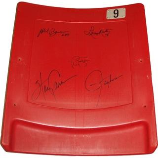"New York Giants ""Super Bowl XXI"" 5 Signature Seatback (LE/ 100)"