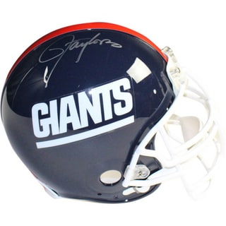 Lawrence Taylor Signed New York Giants Authentic Linebacker Helmet