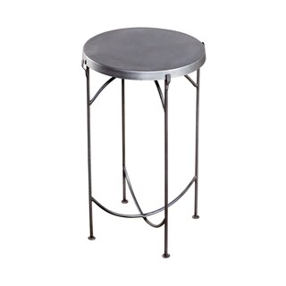 Cap Top Iron Side Table (India)