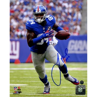 Larry Donnell Signed Running 8x10 Photo