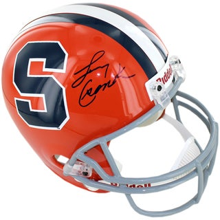 Larry Csonka Signed Syracuse University Replica Helmet