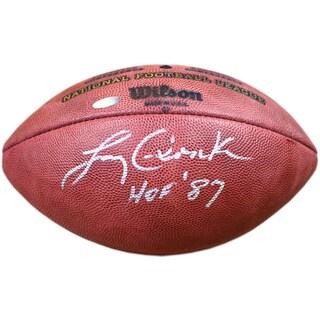 Larry Csonka Signed Duke Football w/ HOF 87 Insc
