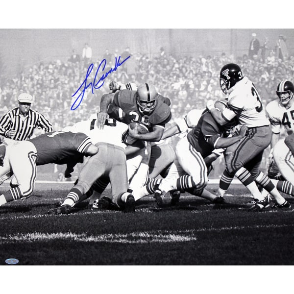 Larry Csonka Signed B/W 16x20 Photo