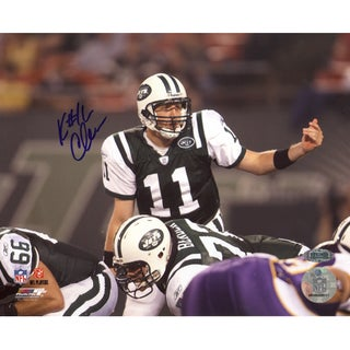 Kellen Clemens Over Center vs. Vikings Horizontal 8x10 Photo