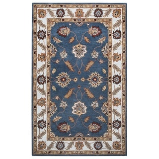 Rizzy Home Palmer Collection Multi-Colored Oriental Area Rug - 5' x 8'