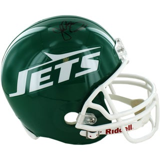 John Riggins Signed New York Jets Replica Green Throwback 78-89 Helmet