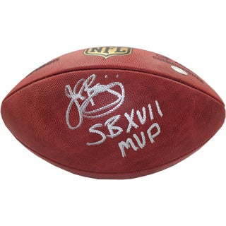 John Riggins Signed Duke Football w/ SB XVII MVP Insc