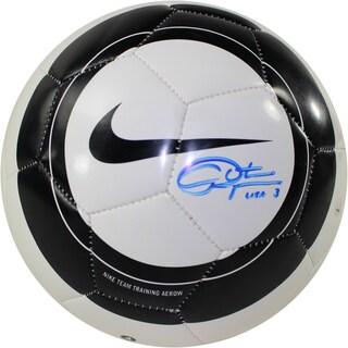 Christie Rampone Signed Nike Aero Black & White Replica Soccer Ball