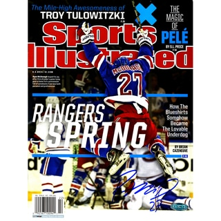 Ryan McDonagh Signed Sports Illustrated Magazine