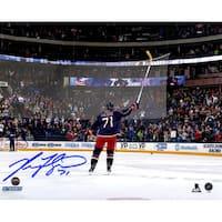 Nick Foligno Signed Celebration 8x10 Photo