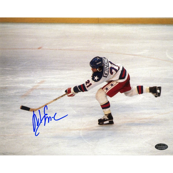 Mike Eruzione Signed Team USA 8x10 Photo ( SchwartzSports Auth)