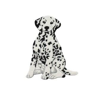 Dalmatian Dog Wool Rug - 2' x 3'