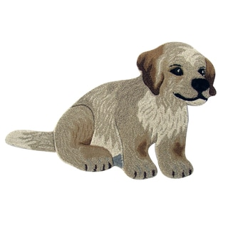 Puppy Dog Wool Rug (2' x 3')