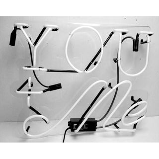 Oliver Gal 'You and Me' Neon Sign