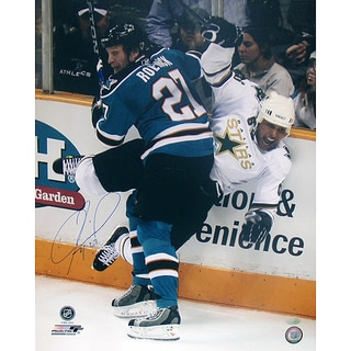 Jeremy Roenick San Jose Sharks Checking Vertical 16x20 Photo