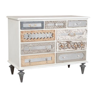 Guildmaster Mirror Mosaic 9-drawer Dresser