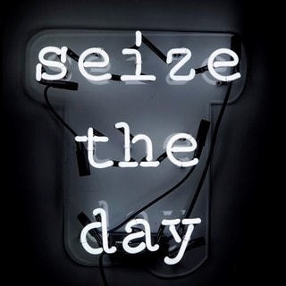 Oliver Gal 'Seize the Day' Neon Sign