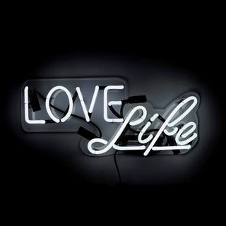 Oliver Gal 'Love Life' Neon Sign
