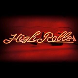 Oliver Gal 'Highroller' Neon Sign