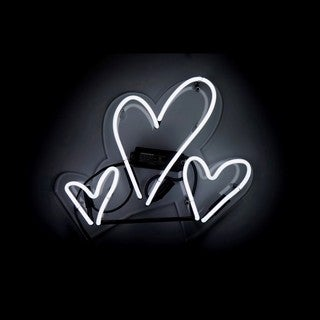 Oliver Gal 'Hearts' Neon Sign