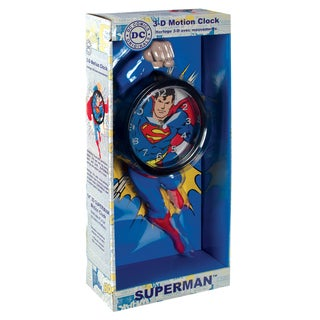 NJ Croce Superman 3D Motion Clock