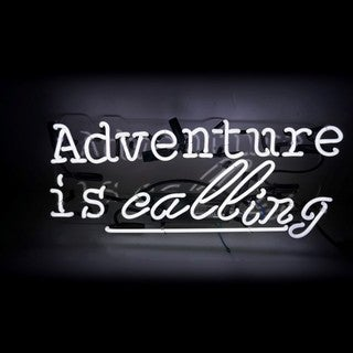 Oliver Gal 'Adventure' Neon Sign