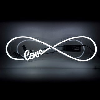 Oliver Gal 'Love Infinity' Neon Sign