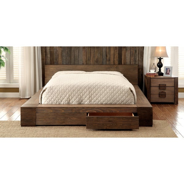 Furniture Of America Shaylen Ii Rustic 2 Piece Natural