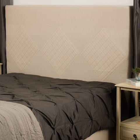 Christopher Knight Home Zealand Fully Upholstered Quilted Full/ Queen Fabric Headboard