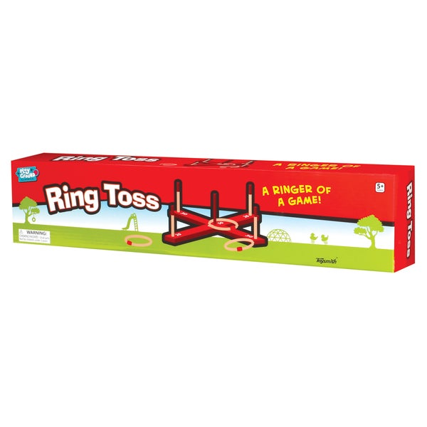 Toysmith Ring Toss A Ringer of a Game.